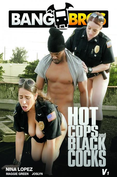 Hot Cops On Black Cocks V1