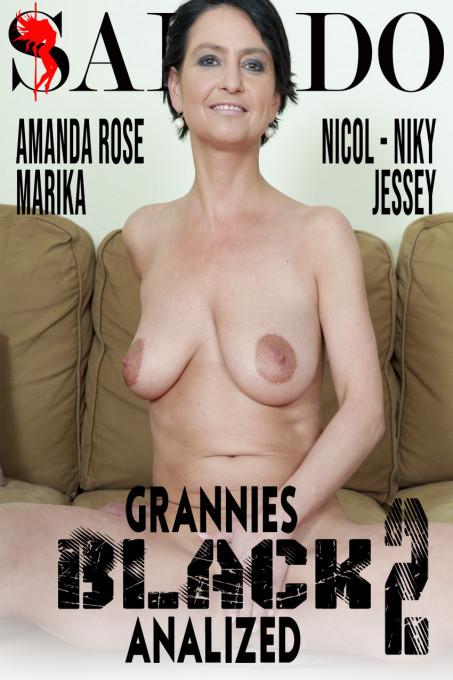 Grannies Black Analized 2